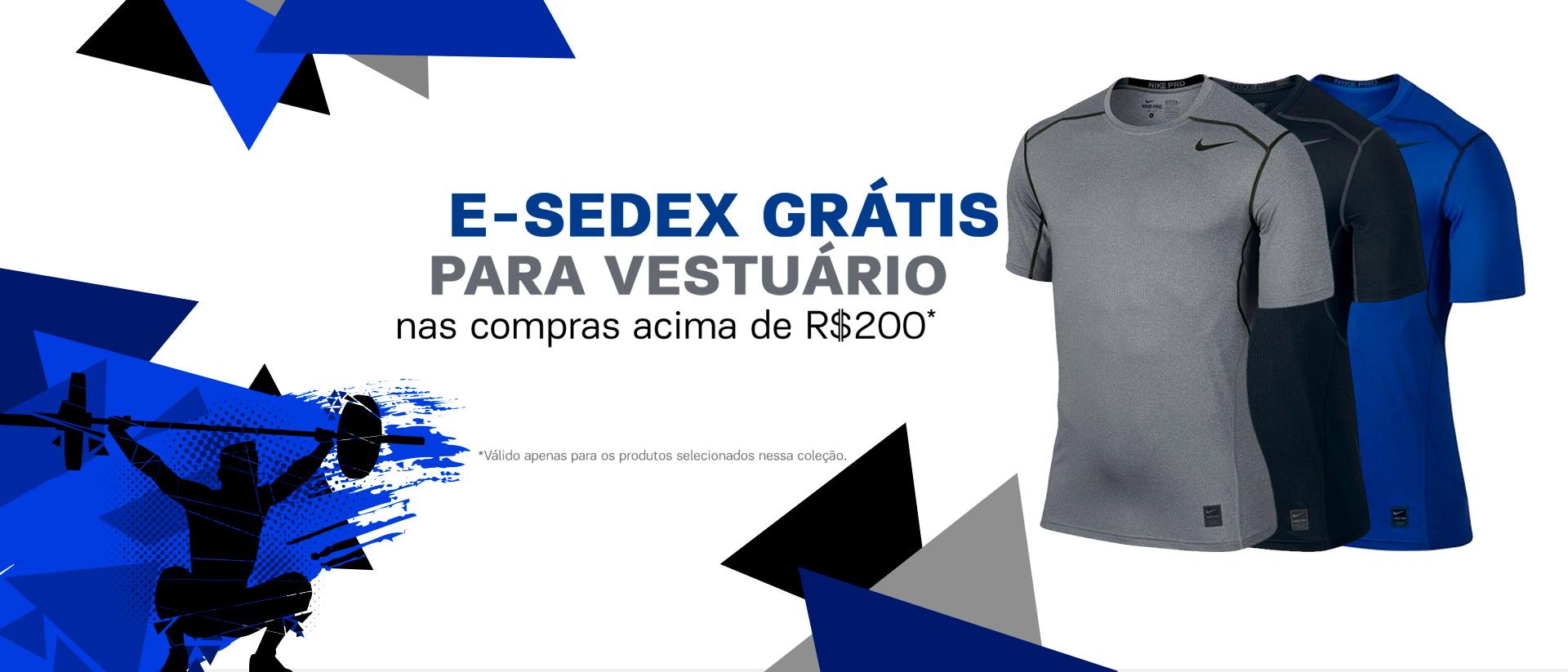 E-Sedex grátis Vestuário