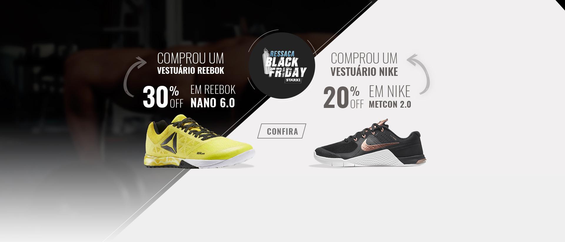 Compre Vestuário + Desconto Tênis