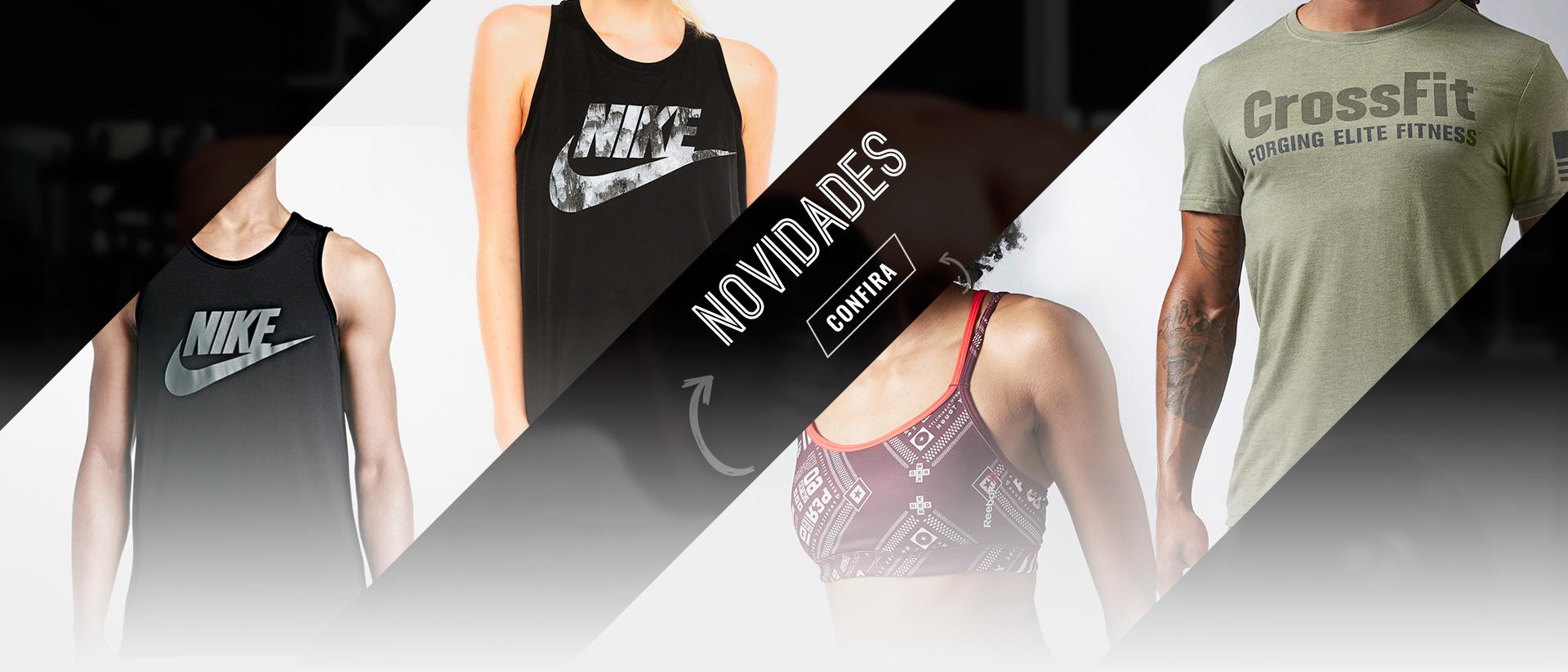 Novidades Nike e Reebok
