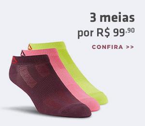 3 meias por R$99,90