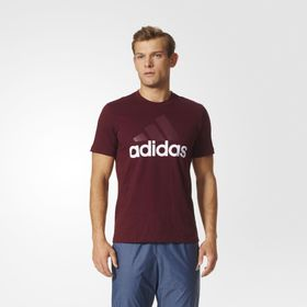 CAMISETA-ADIDAS-ESSENTIALS-LINEAR-S98733-MARROM_1