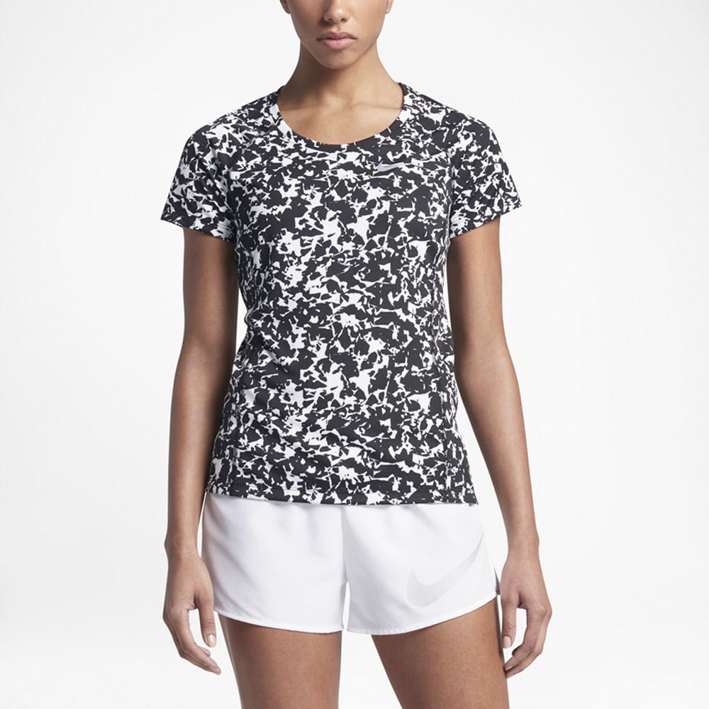 e140bb17933ae Camiseta Nike Dry Miler Running 831536-010 - Starki