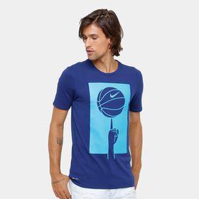 Camiseta Nike Dry Basketball 882194-429 9828b3f3db88e