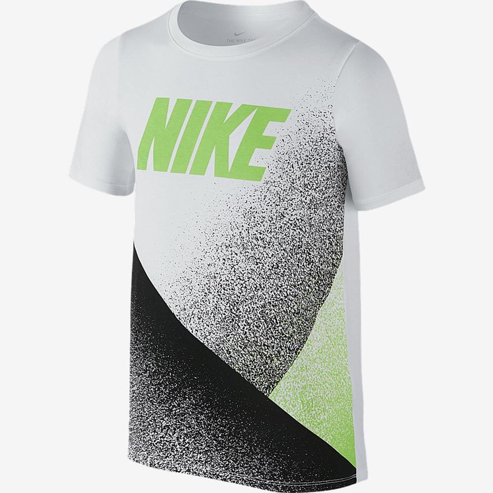 Camiseta Nike Dry Carbon Infantil 838809-101 Bra - Starki 88f10f480d702