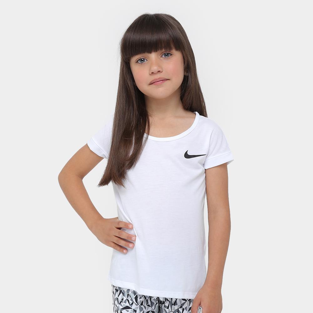 Camiseta Nike Top ss Kids 830545-100 - Starki dae463e90715a