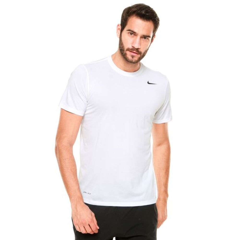 d221226ff6 Camiseta Nike Manga Curta Dry 718833-100 Branca - Starki