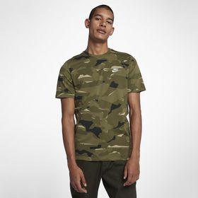 f3380c6d3 Camiseta Manga Curta Nsw Dry Teee Aj6631-209 Camuflado Verde