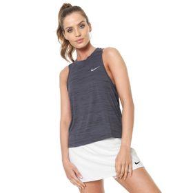 Regata Nike Miler Tank 931772-010 Azul Petroleo 7c807f69220