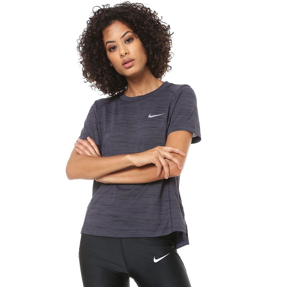 Camiseta Nike Miler Tank 931776-010 Azul Petroleo - Starki 79f654e952fd3