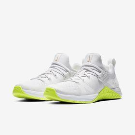 Tenis Nike Metcon Air Zoom DSX Flyknit 3 AR5623-117 Branco com verde 6157e88609521