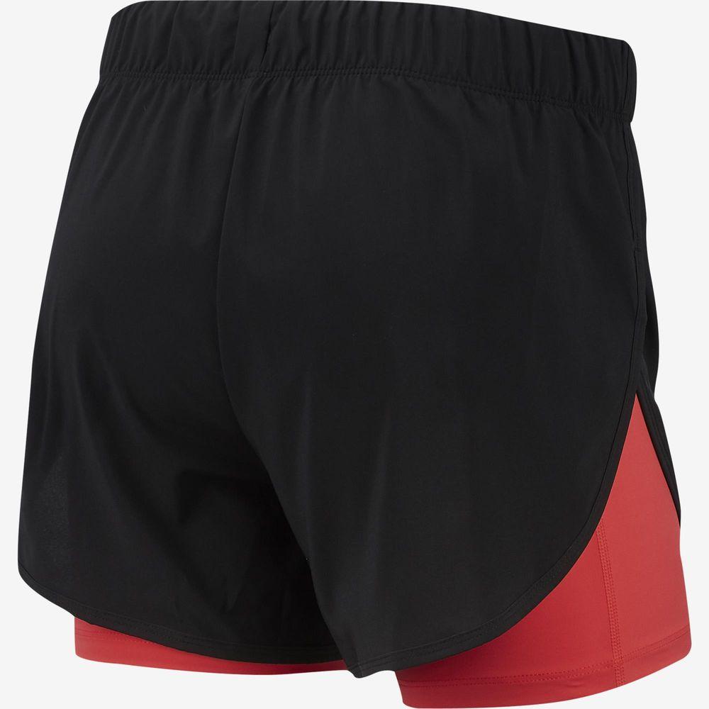 Short Nike Feminino 2 em 1 Ar6353-011 Preto Rosa - Starki dc469fdfde3
