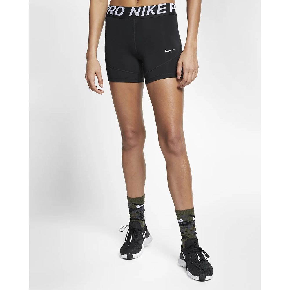 Short Nike Feminino Pro 5in Ao9975 010 Preto