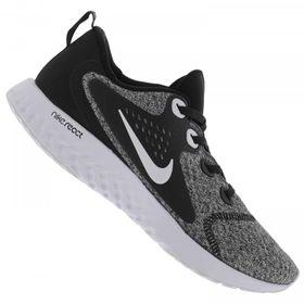 3d0561ac21 Tenis Nike Legend React Rebel Aa1625-009 Preto Cinza Branco