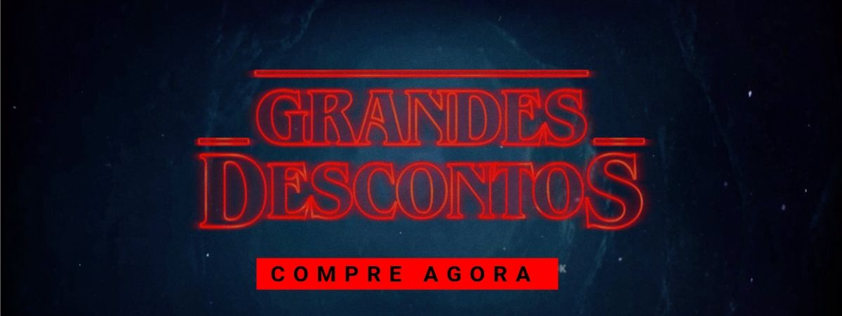stranger things - grandes descontos
