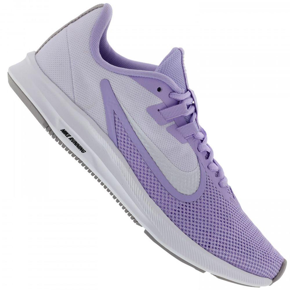 Tenis Nike Downshifter 9 Lilas Aq7486 500 Feminino